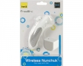 Nintendo Wii Controller Nunchuk Wireless (Weiss)