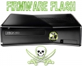 XBox360 Slim (250 GB) mit Firmware Flash LT+ 3.0
